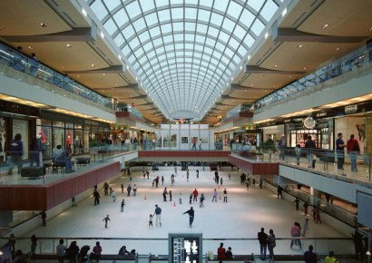 Ice Skating in Galleria